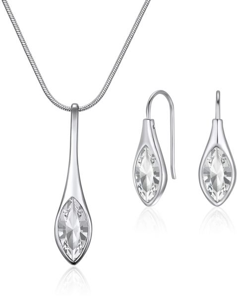Mestige Women's Amelie with Swarovski Crystals Jewelry Set - MSSE3236