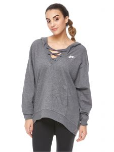 19c77c9ce Nike Training Club Laceup Hoodie for Women. by Nike, Sportswear - Be the  first to rate this product. 42 % off