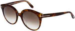 08793c557698 Tom Ford Women s Gradient Monica FT0429-56F-54 Brown Round Sunglasses