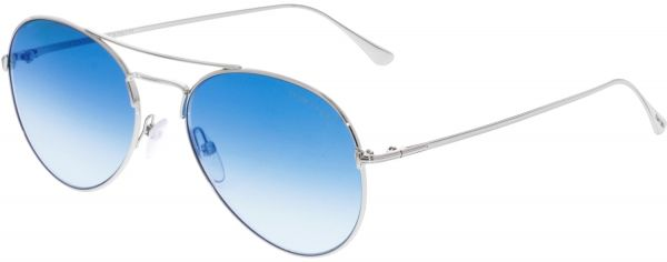 b3a8ffd9e25 Tom Ford Women s Gradient Ace-02 FT0551-18X-55 Silver Aviator Sunglasses.  by Tom Ford
