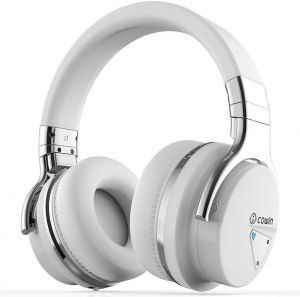 COWIN E7 Active Noise Cancelling Bluetooth Headphones with Microphone Wireless Headphones Over Ear