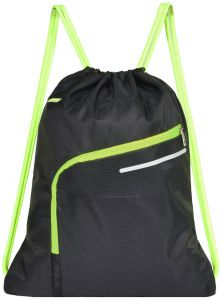 20006356dd67 Saigain Gym Sack Large Drawstring Backpack Sport Bag Sackpack with Zipper  for Men   Women