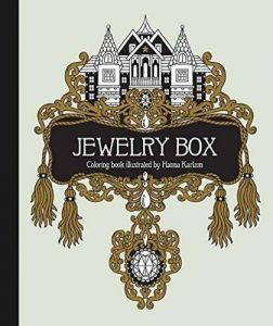 Jewelry Box Coloring Book Published In Sweden As Smyckeskrinet