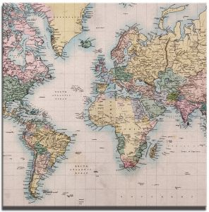 Global map jp londonroutledgebrand springer uae souq jp london sqscnv2258 ready to hang made in north america art gallery wrap heavyweight canvas wall world map global community 14in publicscrutiny Gallery