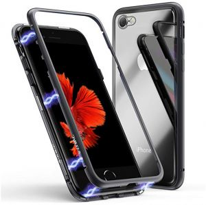 aaf6045d4 Magnetic Case for iPhone 6 Plus iPhone 6s Plus Tempered Glass iPhone Case