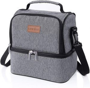 f474bab0e6 Insulated Lunch Box Lunch Bag for Adults Men Women Kids
