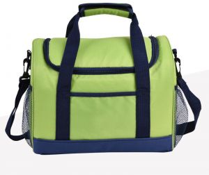 Food Fresh Keep Lunch Cooler Bag Waterproof Picnic Travel Storage Icepack Thermal Insulated Lunch Bags Oxford Cloth insulation Package Shoulder Car ice Pack ...