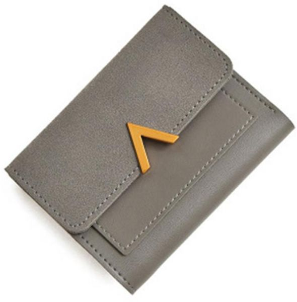 WoMen S RFID Bifold Leather Small Wallet Ladies Mini Purse with Coin  Pocket b1dff00e4