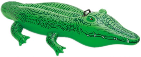 Outdoor Inflatable Crocodile Pool Float Toy Outdoor Fun Water Swim Floater for kid