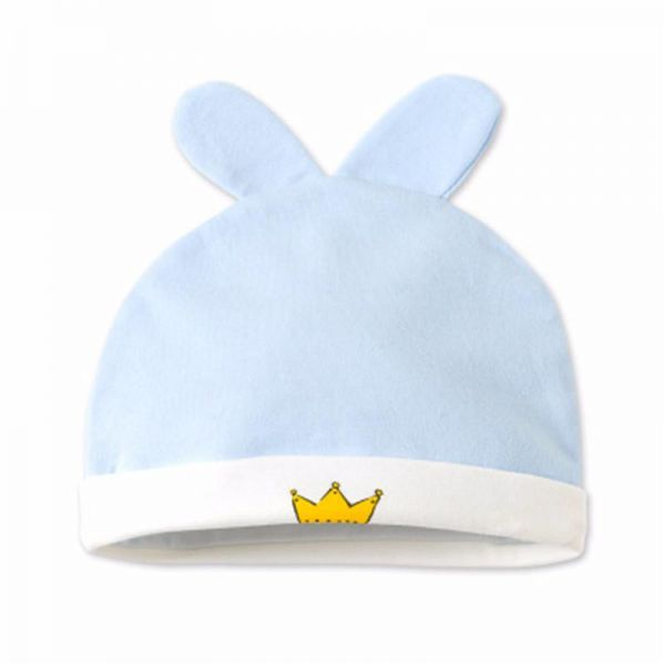 Organic cotton Baby ear Hats Super Soft Caps Available in crown ... 0e784850124