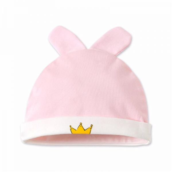 Newborn Hats For Girls Cotton Infant Baby Beanie Hospital sleeping ... c54b0a3bf16