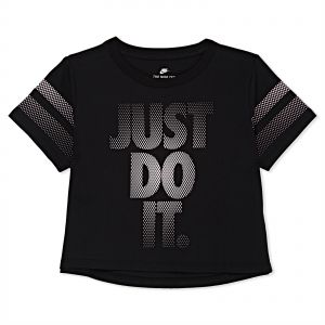 51a8c31b6ac6 Nike Training Cropped T-Shirt for Girls