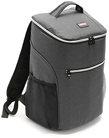 Insulated Backpack Cooler Bag Lunch Bag Waterproof Soft Lunch Ice Cooler  Backpack Large Capacity for Men Women Beach Hiking Picnic Fishing BBQ Cold  Beer ... 16782211d