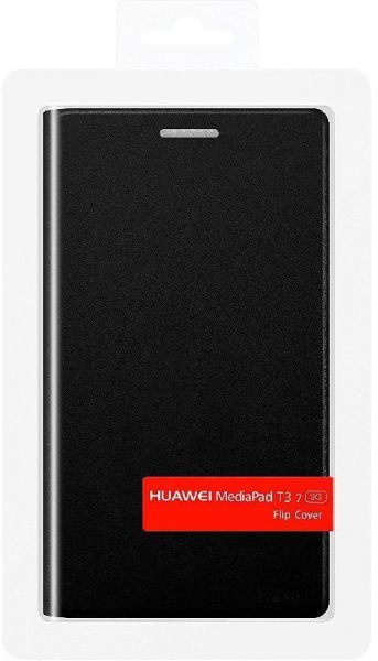 more photos 30862 ff68f Huawei Flip Cover Tablet Case, for Huawei MediaPad T3 7.0 - Black