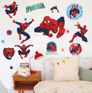 Ps4 Marvels Spider Man Wallpaper Ps4 Game Spiderman Wallpaper Living Room Bedroom Wall Stickers Spider Man Sticker Children Room Wallpaper