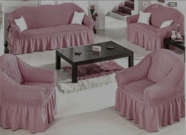 Sofas Covers Set Turkish Model 4 Pieces Consist Of 1 Sofa Cover