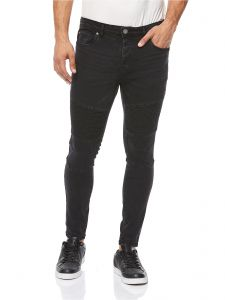 ccdc9611f7 Brave Soul Thomas Skinny Fit Jeans for Men - Black