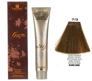 f6046073863be Fauvert Professionnel Temporary Hair Dye - 7 3 Golden Blonde