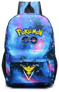 eb009d262a Galaxy Printed Game Pokemon Go Backpack Fashion Casual School Bag Pokemon  Nylon Student Youth Satchel Rucksack Travel Bookbag For Teenager Girls  Womens Men