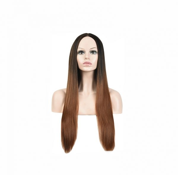 Lolita Style Wig Women s Synthetic Hair Gradient Fashion Long Straight Hair  Wig Accessory  6c6cee7ed6