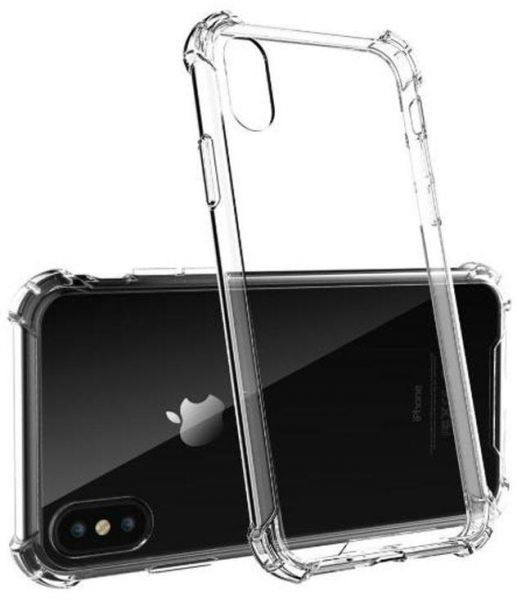 Iphone Xs Max Case Clear Anti Scratch Bumper Shock Absorption Cover