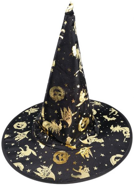 9e8d1632f30 Masquerade Witch Hats Ribbon Wizard Hat Party Hats Cosplay Costume ...