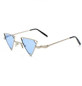 400d64b6c78 Women Men Steampunk Fashion Vintage Metal Sunglasses Beach Versacey Outdoor  Punk Triangle Polarized UV400 Protection Sunglasses