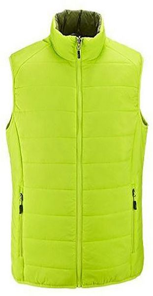 Mens Thermal Quilted Gilet Light Green Olive Green 6906ce86b