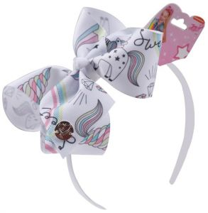 a4675bc2b JOJO Siwa Boutique Fashion hair hoop Hairband with Bling Sparkly Ribbon Bow  accessories Newest design Jojo head hoop Lovely headband with Hair Bows For  Baby ...