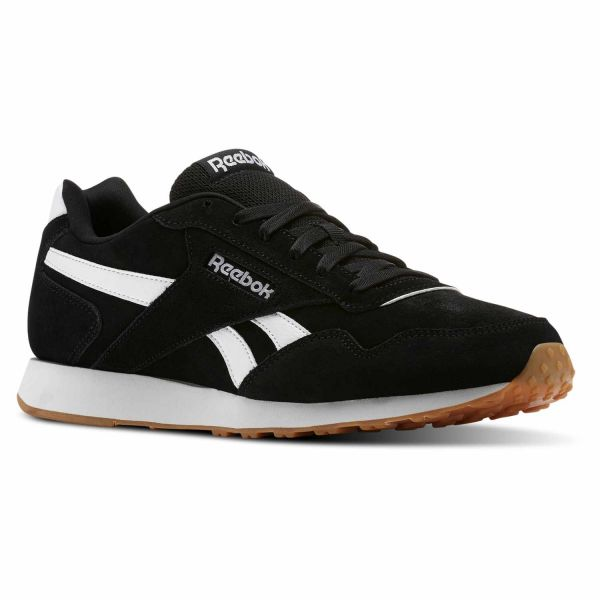 98cf14ee4 Reebok Royal Glide Running Shoes For Men - Black & White