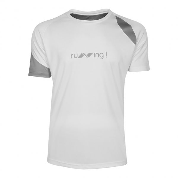 Nivia Oxy-3 Running T-Shirt for Men - White 9847ca192