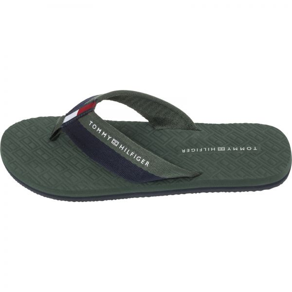 a0d49786c Tommy Hilfiger Flip Flop-Sandals For Men - Jungle Green