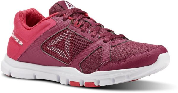 Reebok Yourflex Trainette Training Shoes For Women - Pink   White be17ecd3f