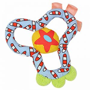 eea7ba8636b8 15cm Baby terry teether lucky Clover Rattle plant Stuffed Plush Doll Toy  hand Puppet tease appease bite Toys Infant kids grip
