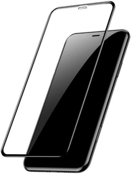 new style c7262 bb285 Tempered Glass Screen Protector for Apple iPhone XR - Black