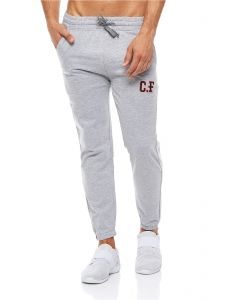 8f6c1ebca830 Cotton Fair Drawstring Fashion Joggers for Men - Light Grey