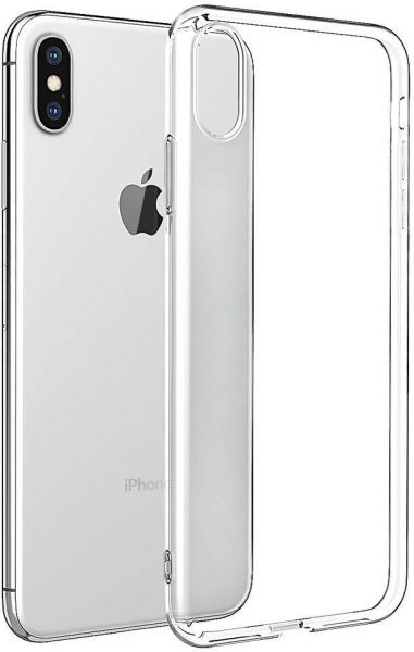 brand new 6cbf2 be107 Clear Case For iPhone XS Max 6.5 Inch Thin Soft Cover Slim Flexible TPU for  Apple iPhone XS Max Transparent