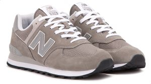 release info on picked up crazy price New Balance NB-574 Walking Sneakers For Men - Grey