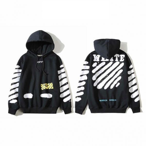a207899d17ab Off-White Hoodie White Text