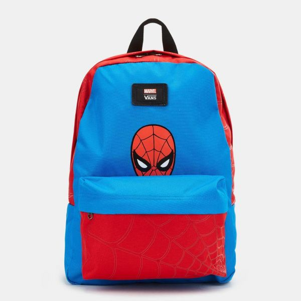 93552e513c6659 vans kids  x marvel new skool backpack