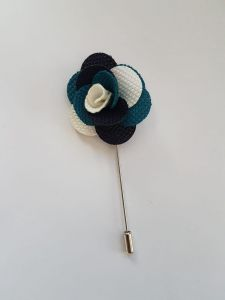 c86401e49545e Men s Lapel Pin Handmade Handcrafted Flower Boutonniere   Wear it with your  Suit or Kandora   Comes in a gift box   Flower Lapel pin