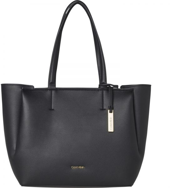 Calvin Klein Tote Bags For Women Polyurethane Black