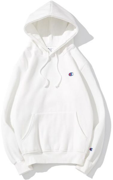 a1aab6266577a Champion Basic Small Embroidered Logo Hoodie