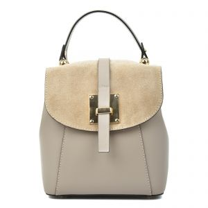 Carla Ferreri Beige Fashion Backpack For Women 79829a33cf7a9
