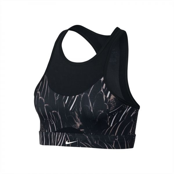 1455e4e955 Nike Swoosh Feather Curve Sport Bra for Women. by Nike