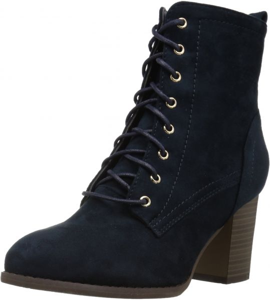 2a0f7d5cda Brinley Co Women's Birdie Combat Boot, Blue, 8 Regular US | Souq - UAE