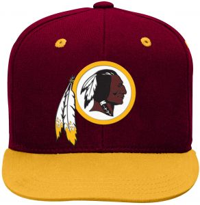 68164f7af68 NFL Washington Redskins Youth Boys 8-20 Basic 2 Tone Flatbrim Snapback Cap