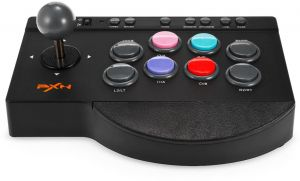 PXN - 0082 Arcade Joystick Game Controller Compatible with PC,PS3,PS4,Xbox one