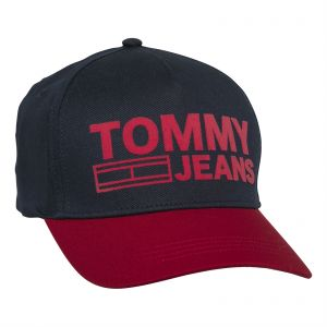 detailed pictures 3f3ef 3410d Tommy Hilfiger Unisex Baseball Cap - Black and Red