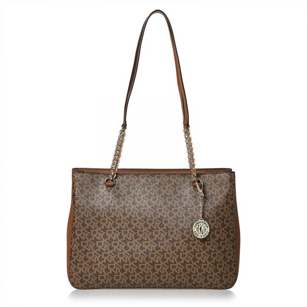 Dkny Tote Bag For Women Brown